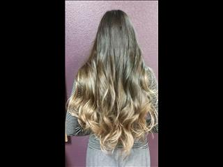 Curled 24inch Ombre Tape-In's.