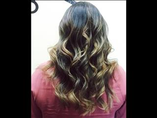 #Balayage plus hair extensions means you can get the color and thickness you want.
