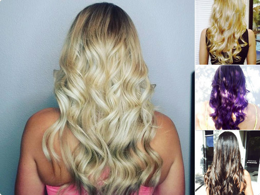 Hair Extensions Reno Pictures, ombre, sombre, balayage, full shine, augmentation